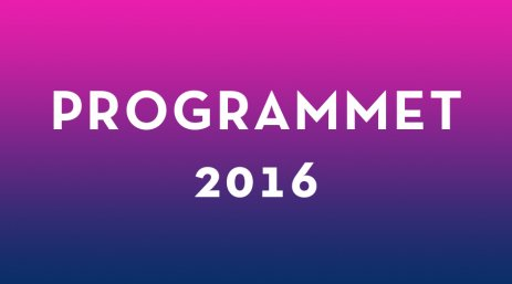Programmet 2016